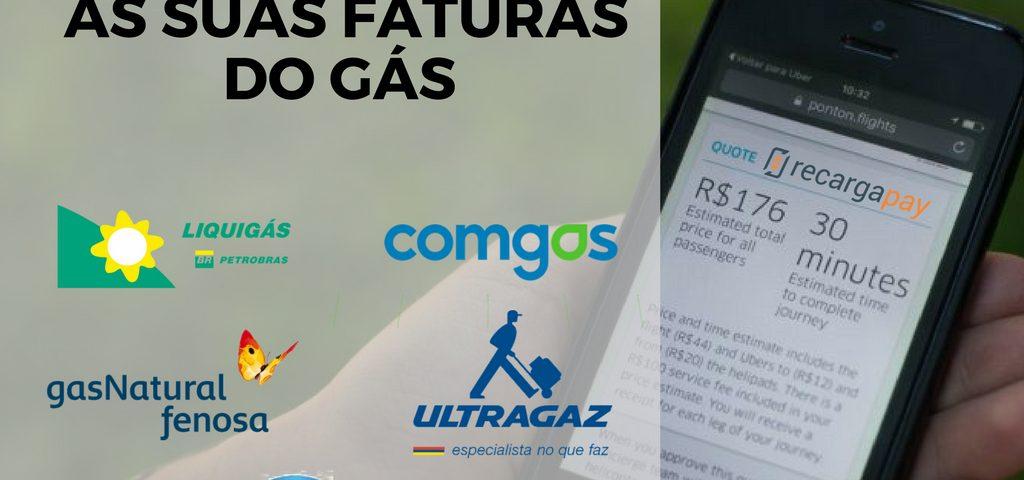 Cancela todas suas faturas go gás com Recargapay