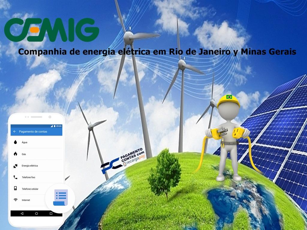 Companhia de energia elétrica em Rio de Janeiro y Minas Gerais