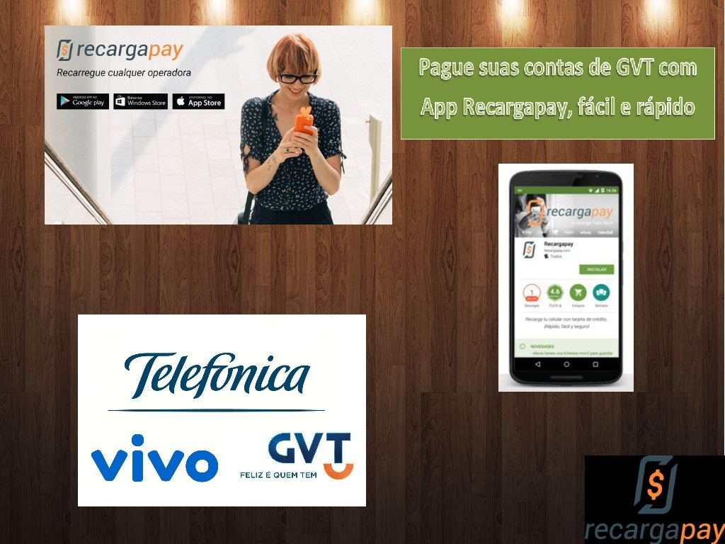 Pague sua conta GVT pelo celular em São Paulo