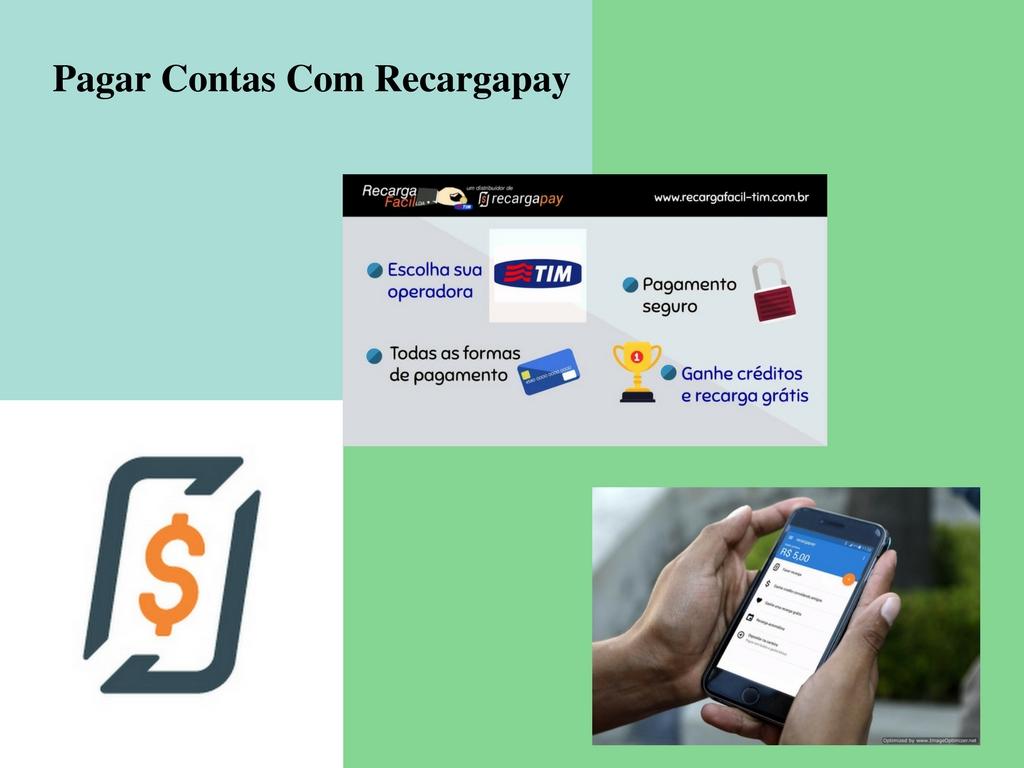 Pagar todas as contas de telefone celular com Recargapay