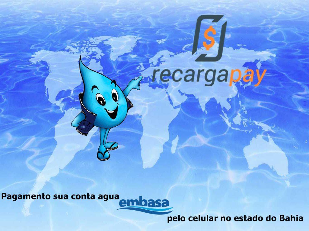 Pagamento sua conta agua Embasa no estado do Bahia