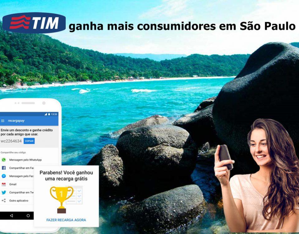ganha mais consumidores em São Paulo