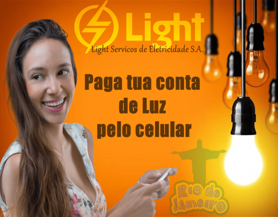 pagar conta do light