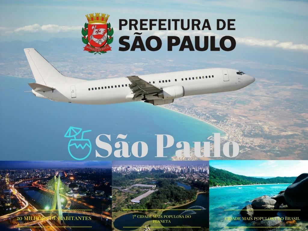 Sao Paulo uma das cidades maiores e populares pela economia e turismo