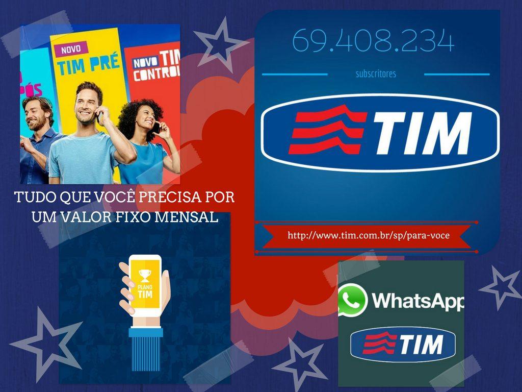 Alcance dos serviços da empresa TIM