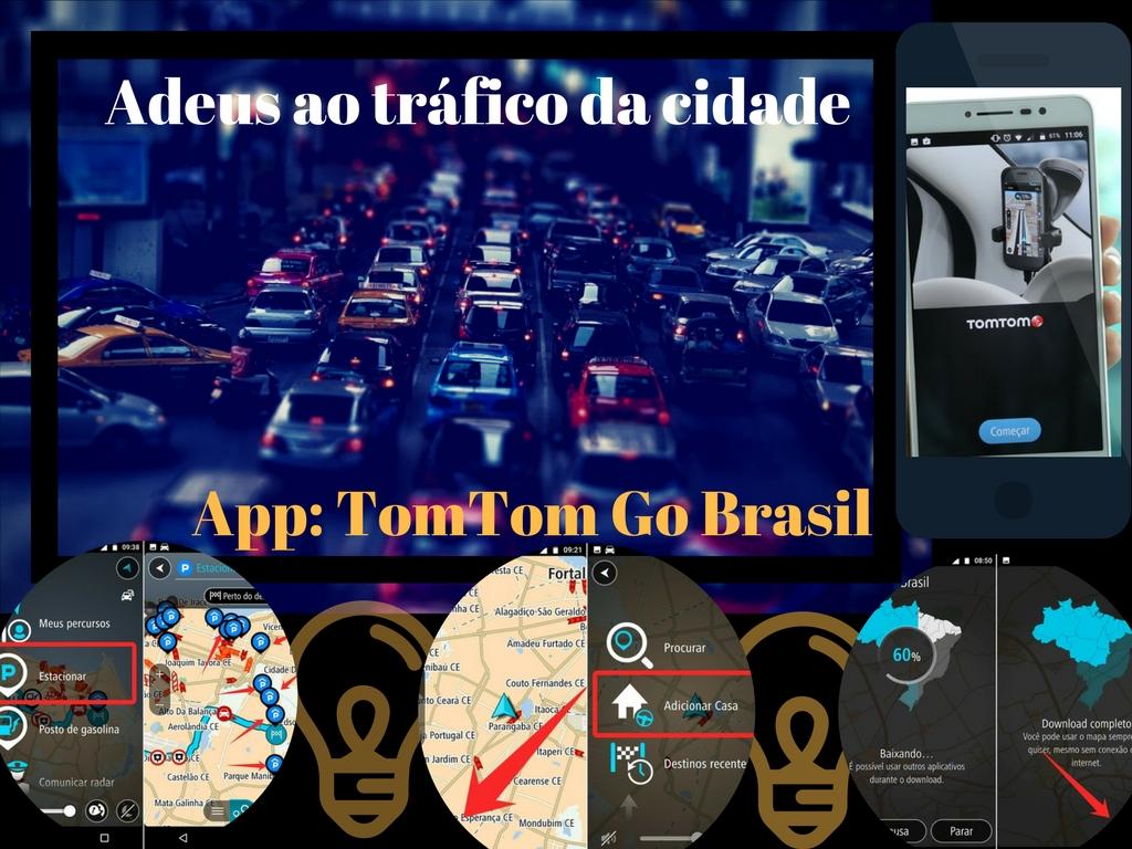 TomTom Go Brasil: O aplicativo ideal para conhecer sobre rotas e tráfico em São Paulo