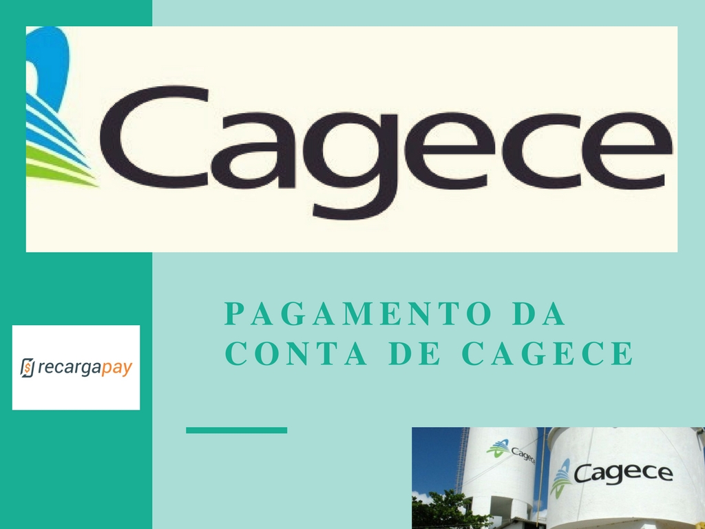 Pagamento da conta de Cagece pelo celular em Fortaleza