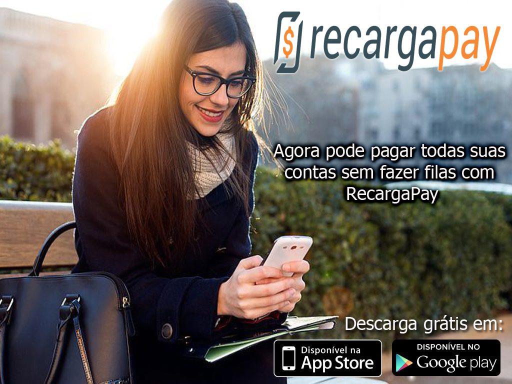 Faca seus pagos pelo celular com o aplicativo RecargaPay