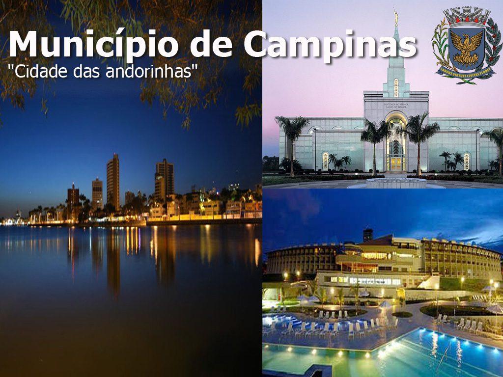 Municipio brasileiro Campinas a ciudade das andorinhas