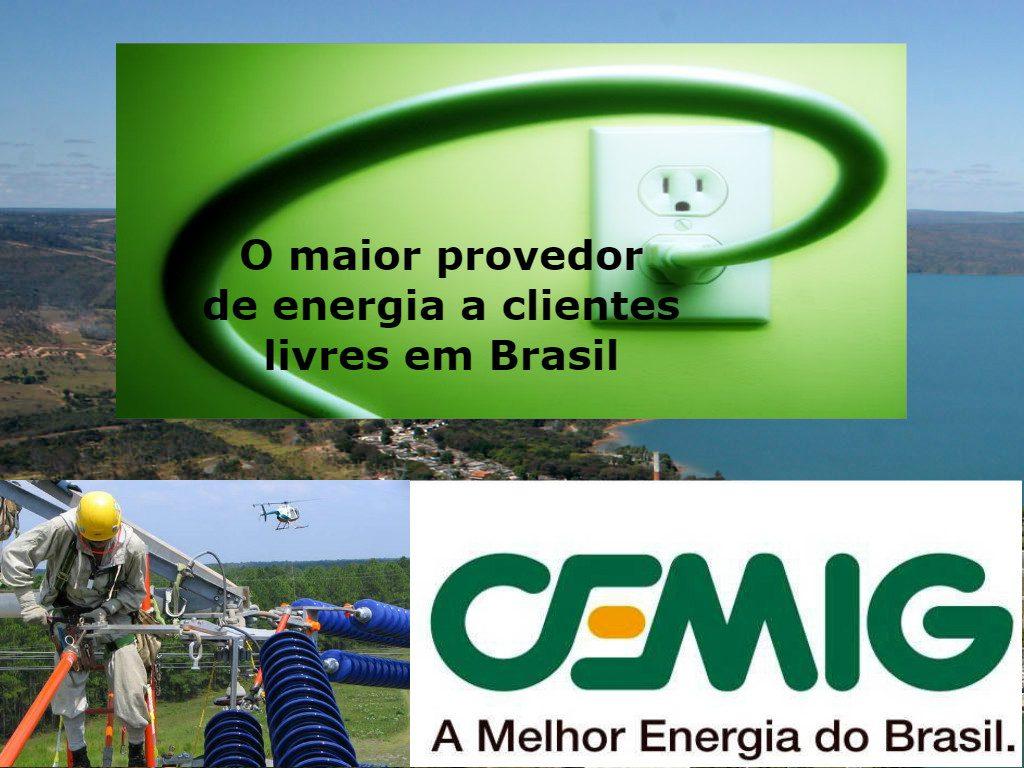 Cemig em Belo Horizonte, maior provedor de energia