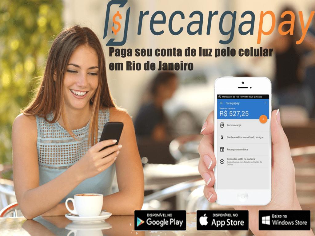 Paga seu conta de Light Servicos de Eletricidade pelo celular em Rio de Janeiro