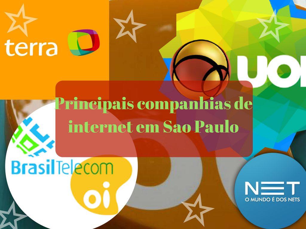 Principais companhias de internet em Sao Paulo