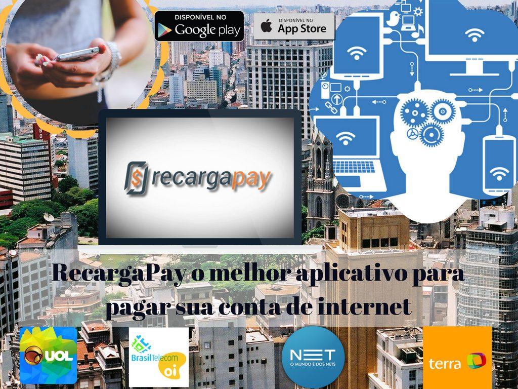 O melhor aplicativo para pagar sua conta de internet pelo celular em Sao Paulo