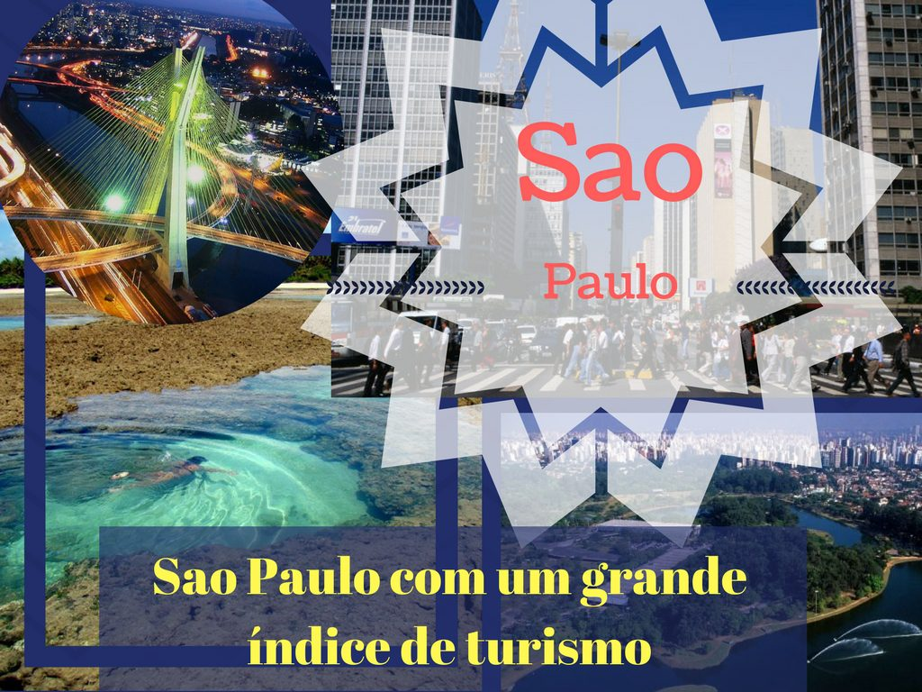Sao Paulo é a cidade com maior índice de turismo no país