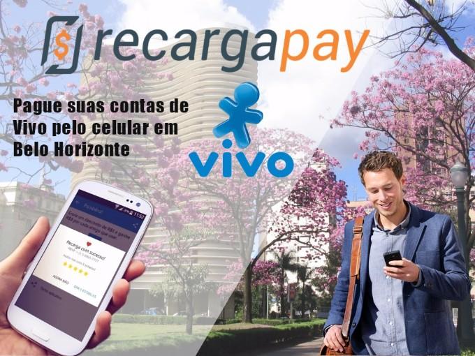 App para pagamento da conta de celular VIVO em Belo Horizonte