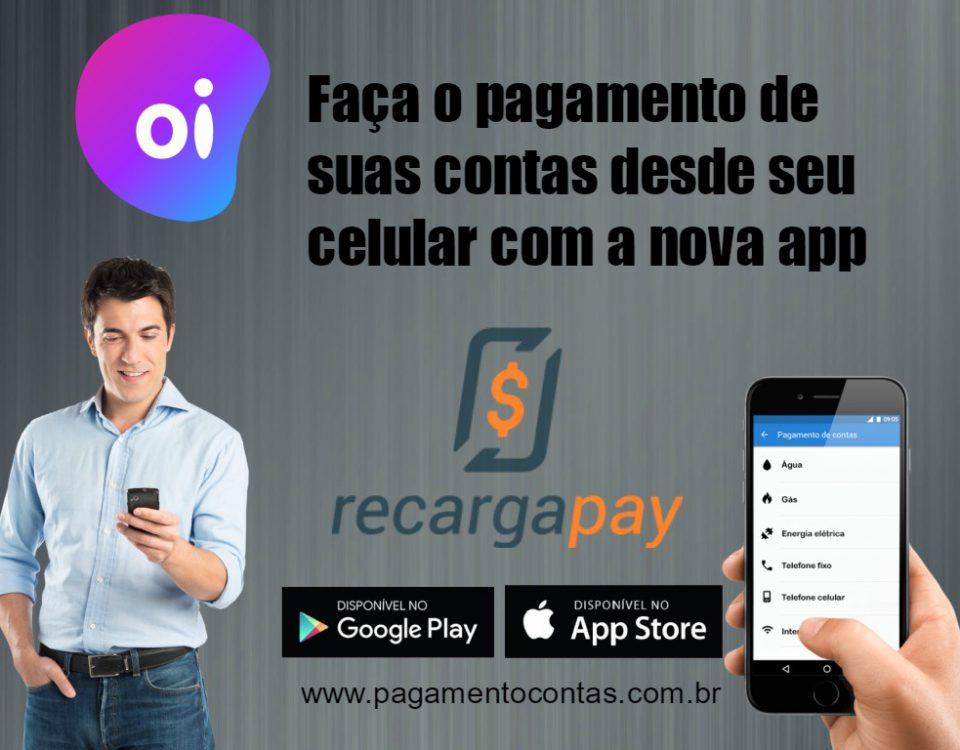 Pagamento de contas celular de Oi em segundos