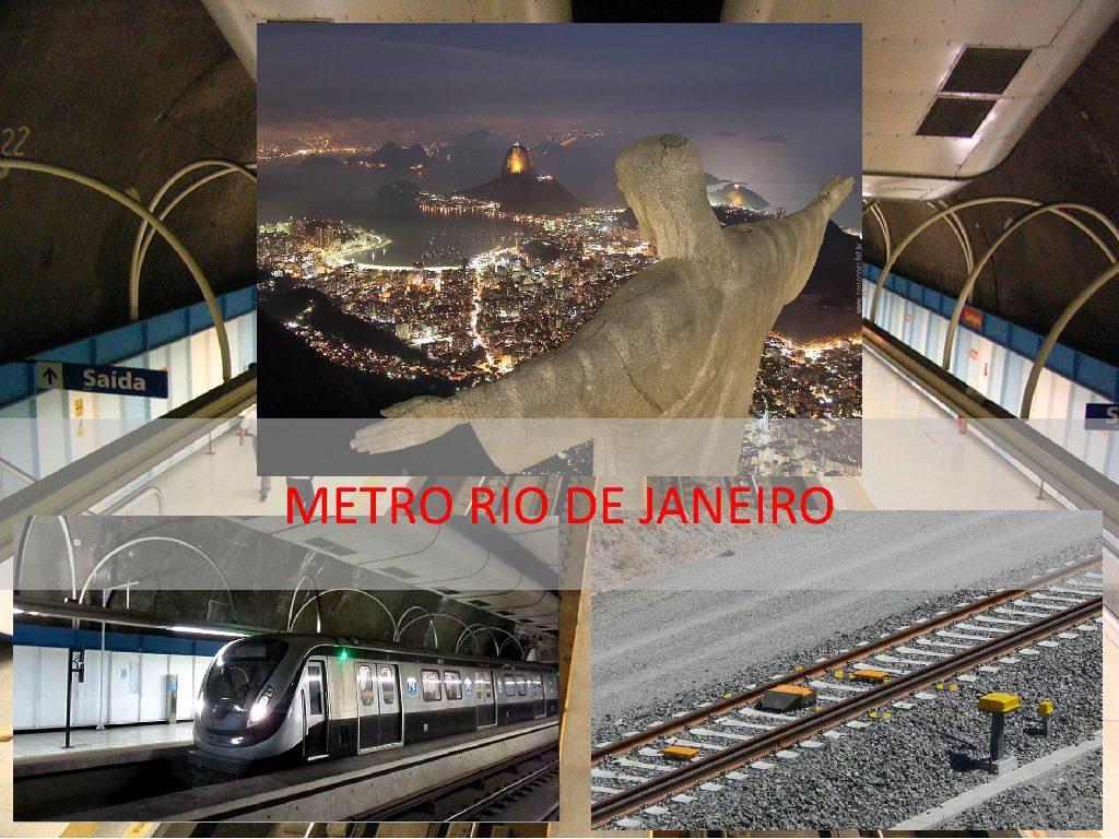 Siemens instalará sua nova tecnologia de sinalização ferroviária no Metro de Rio de Janeiro