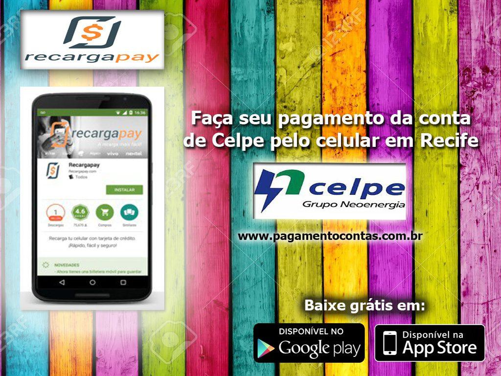 Faça seu pagamento da conta Celpe pelo celular em Recife