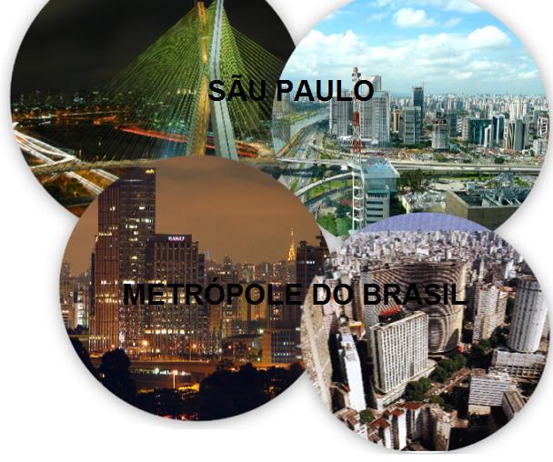 Sao Paulo metrópole do Brasil o principal centro financeiro