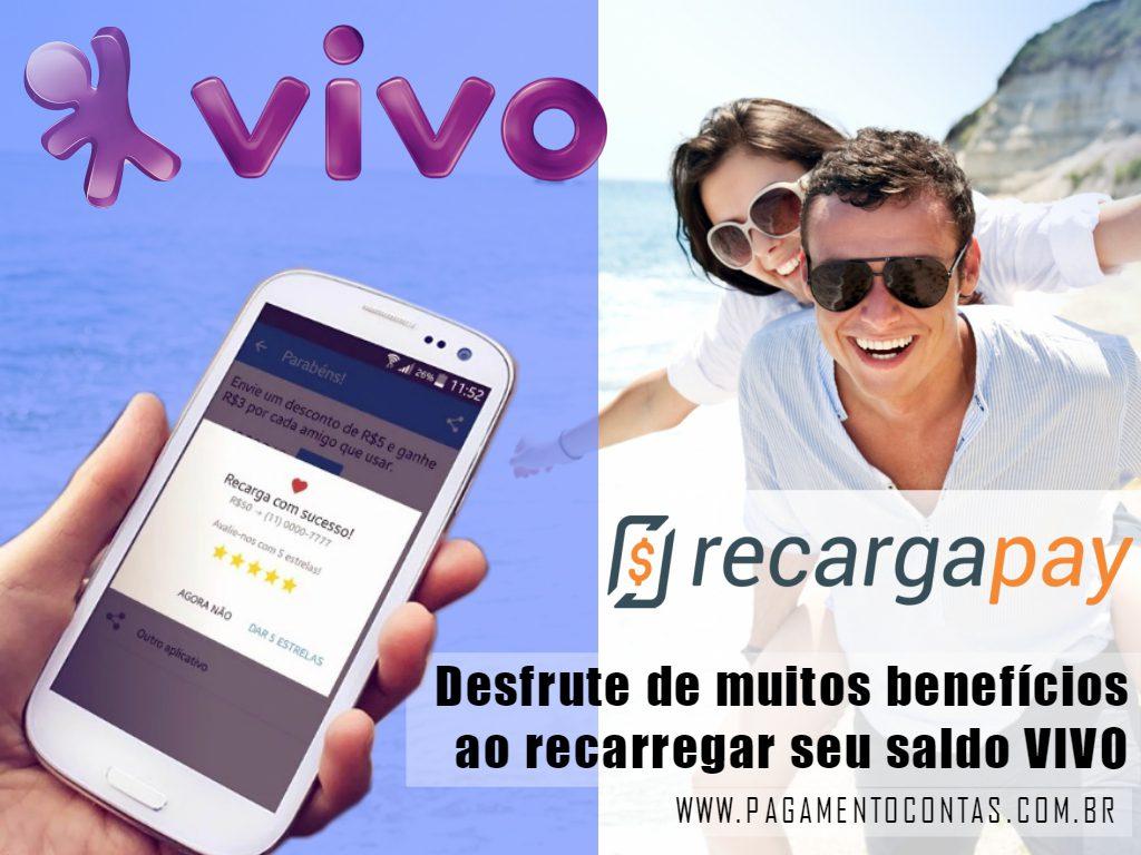 Desfrute de muitos benefícios ao recarregar seu saldo VIVO com Recargapay