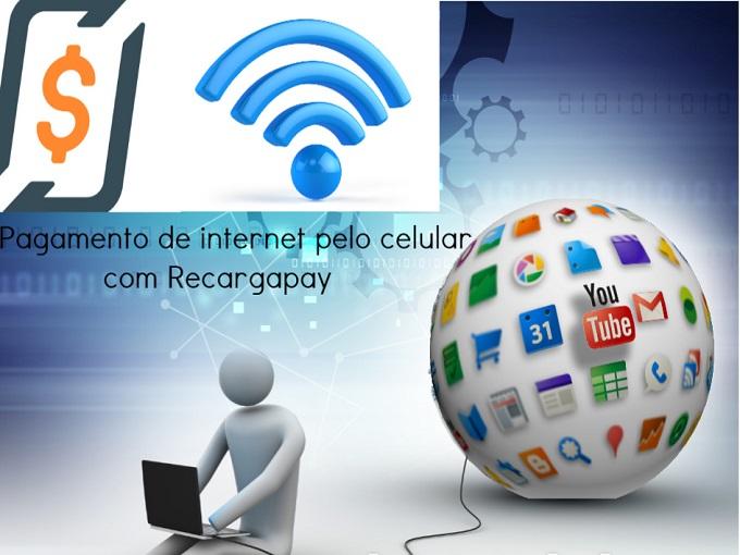 pagamento de internet pelo celular com Recargapay