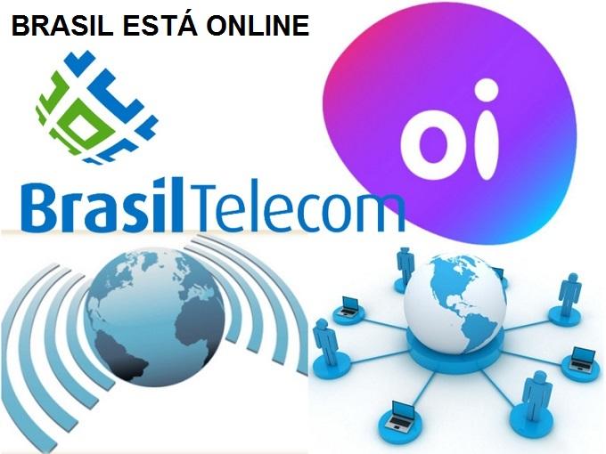 Serviços da empresa Brasil Telecom agora Oi