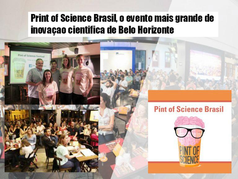 Pint of Science, o evento mais grande de inovação científica de Belo Horizonte.