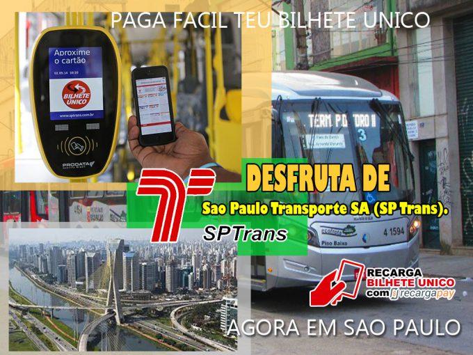 Paga teu bilhete único em Sao Paulo de maneira fácil e rápida com esta nova app