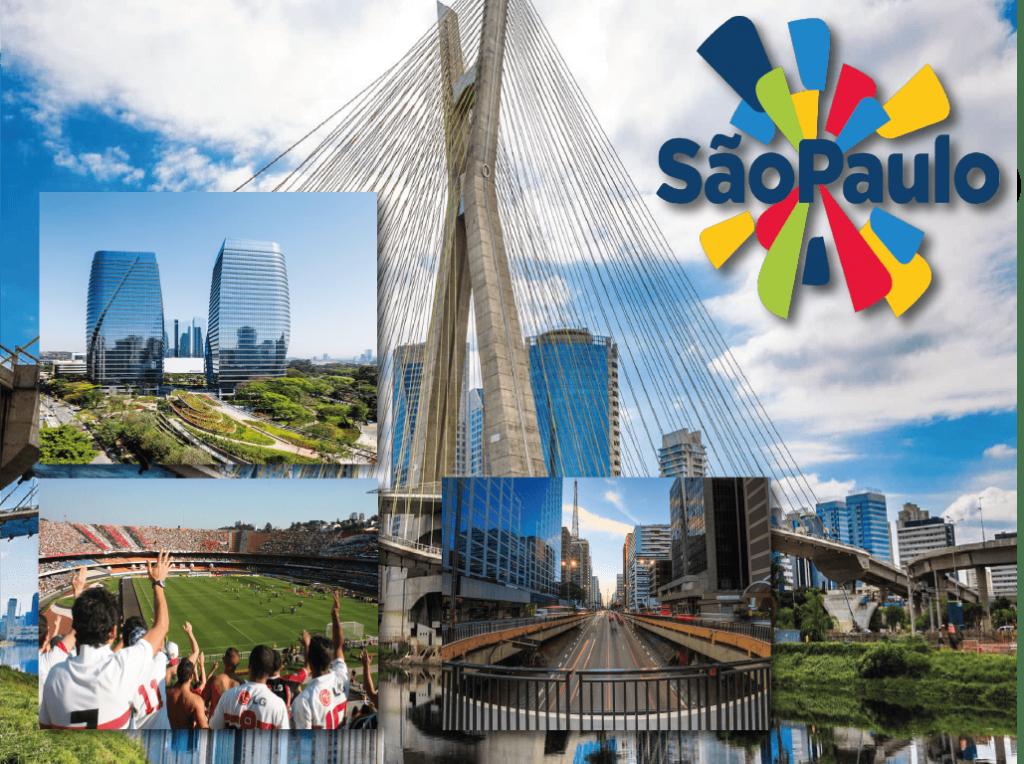 Lugares turisticos na cidade de Sao Paulo