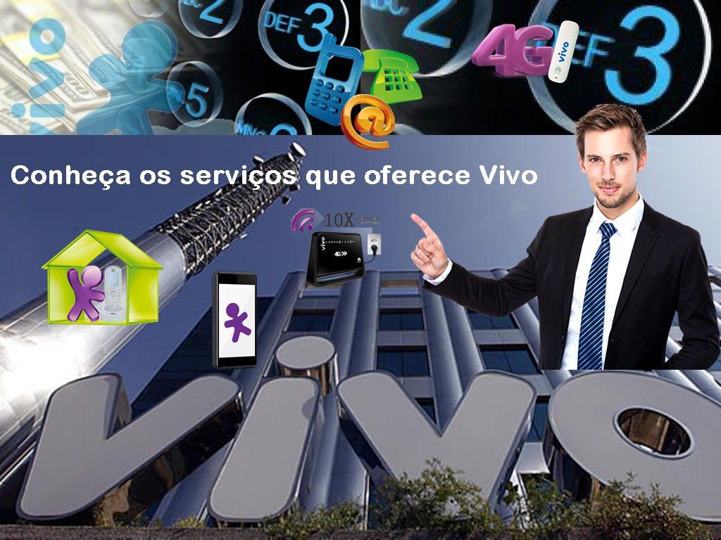 VIVO oferece os melhores serviços de telefonia, Internet e television