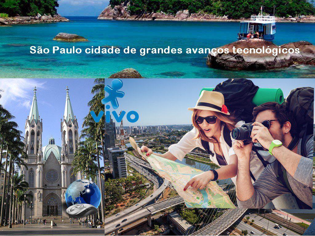 São Paulo cidade de grandes avanços tecnológicos e lugares turisticos