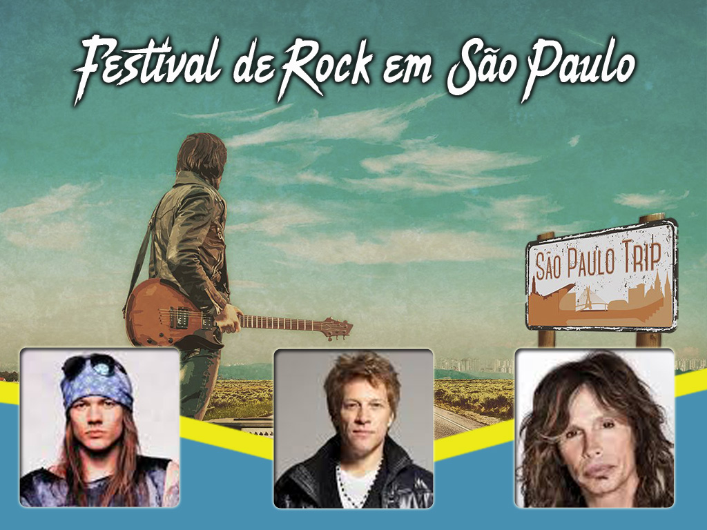 Desfruta do festival de rock mais importante de América latina