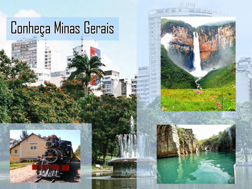 Conhecer os lugares turísticos de Minas Gerais