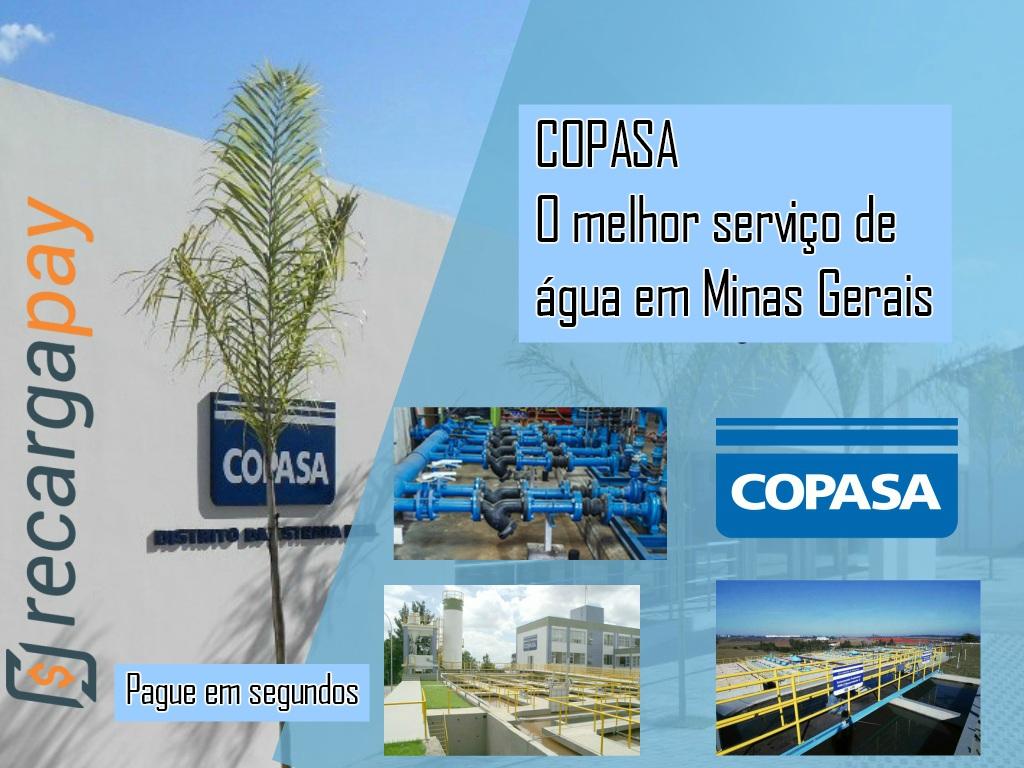 Serviço de água Copasa em Minas Gerais