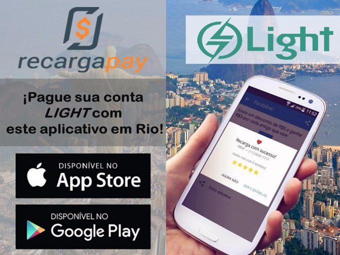 Pague sua conta Light com este aplicativo em Rio de Janeiro