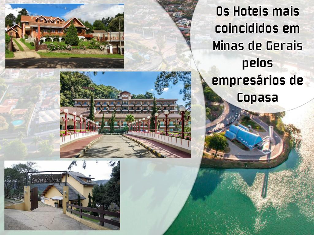 Os melhores hotéis em Minas Gerais