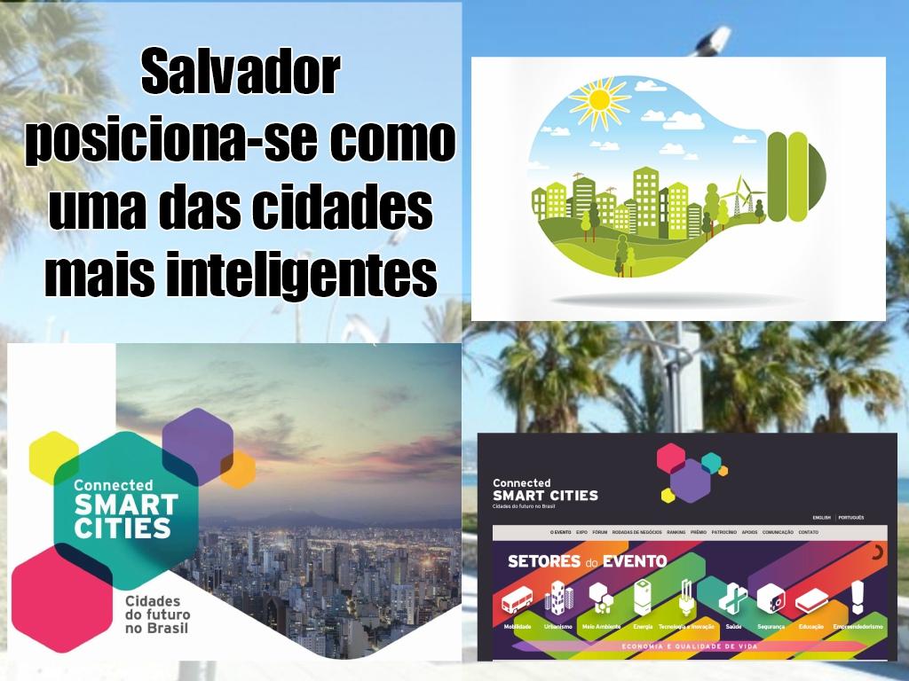 Salvador posiciona-se como uma das cidades mais inteligentes