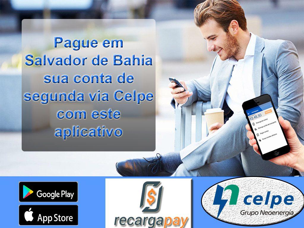 Pague em Salvador de Bahia sua conta de segunda via Celpe com este aplicativo