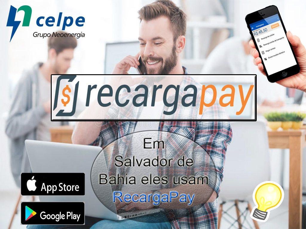 Em Salvador de Bahia eles usam RecargaPay