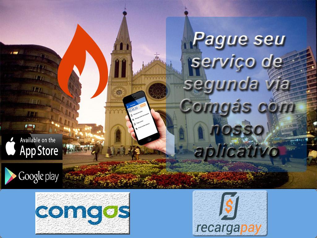 Pague seu segunda vía Comgás com RecargaPay