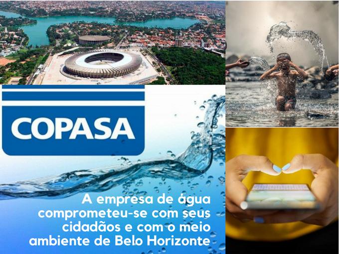 Água Copasa em Belo Horizonte