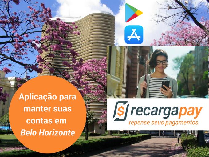 Pagamento de suas contas com Recargapay em Belo Horizonte
