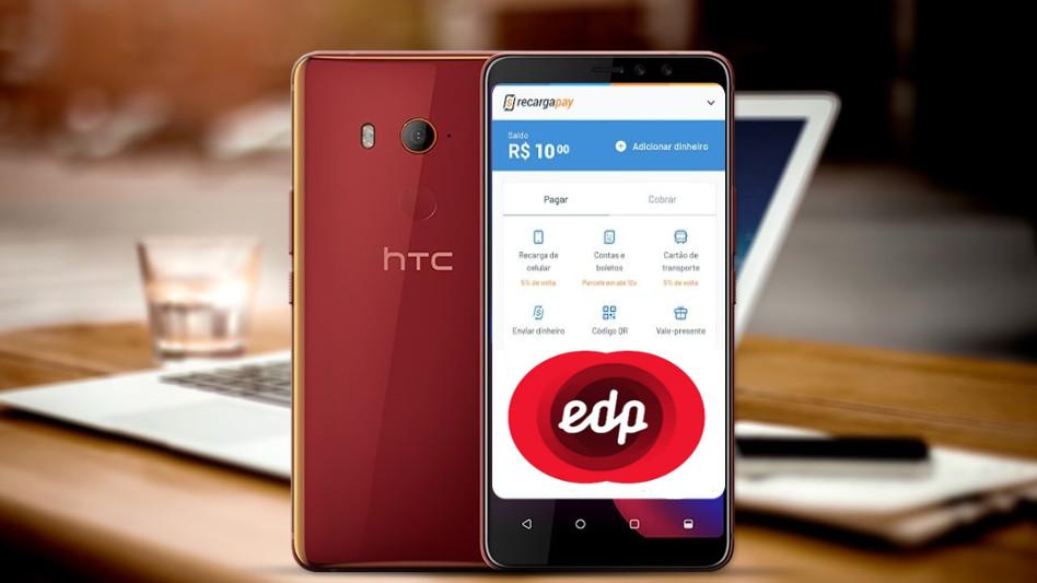 Pague EDP HTC U11