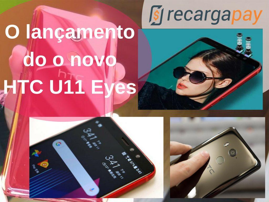 novo htc u11 eyes