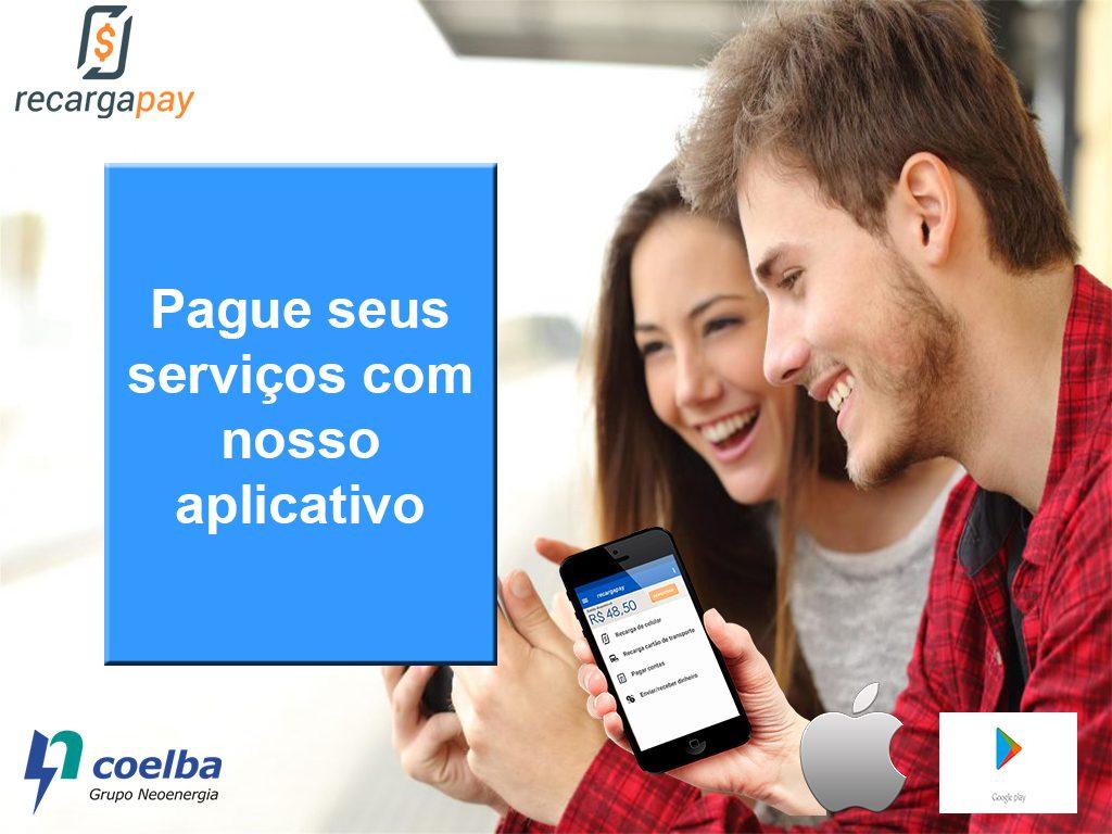 Pague seus serviços com nosso aplicativo