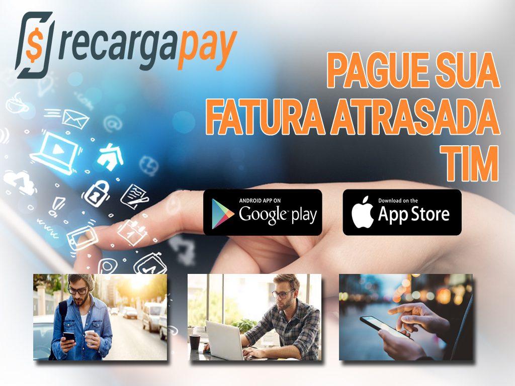 pague sua fatura Tim com Recargapay