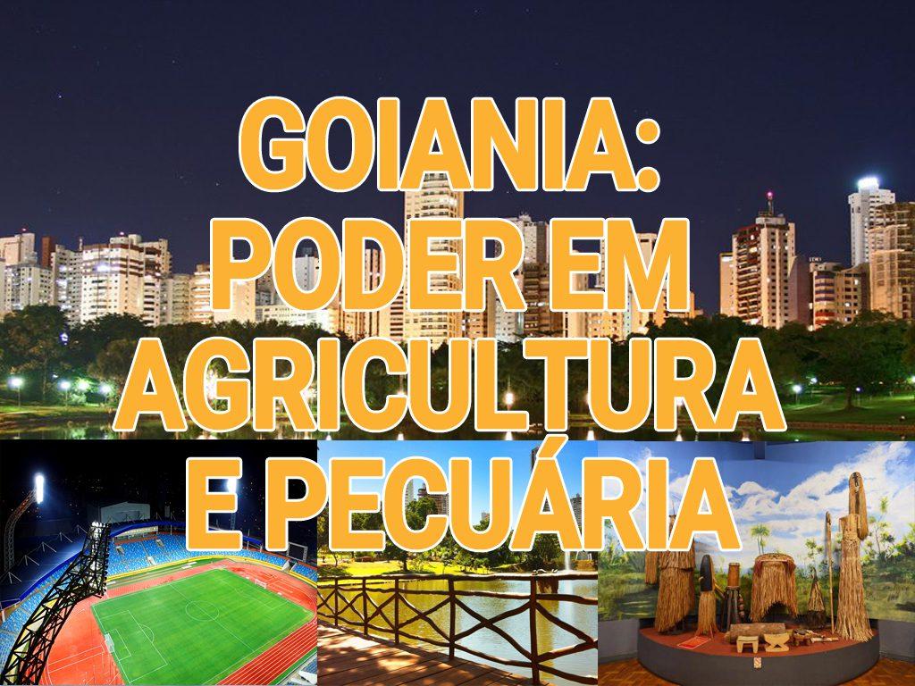 Goiania: poder em agricultura e pecuária