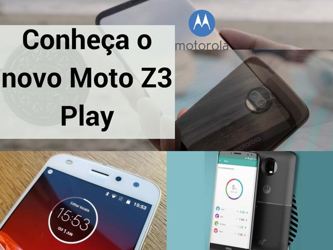 Especificaçoes de Moto Z3 Play