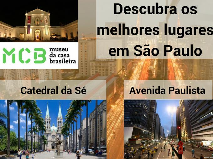 Visite os melhores lugares em Sao Paulo