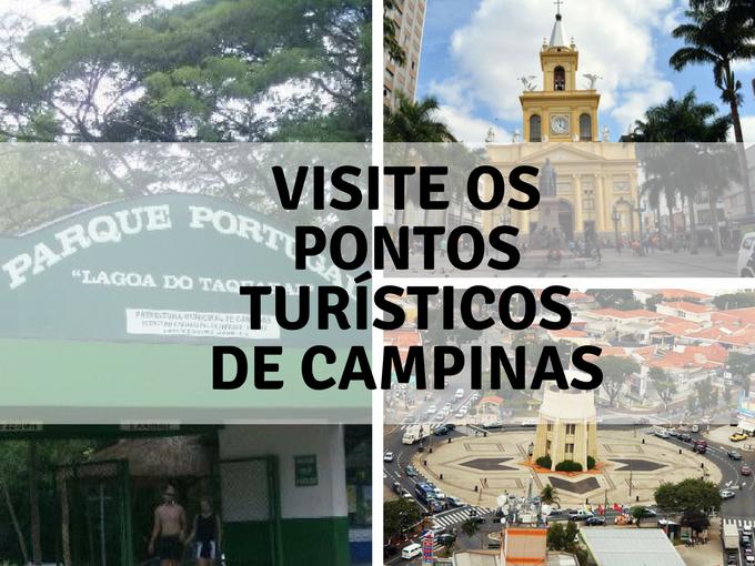Visite os pontos turísticos de Campinas